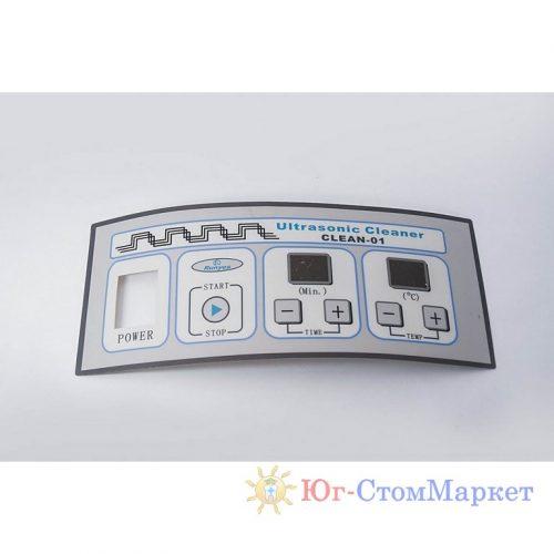 Наклейка клавиатуры ультрозвуковой мойки (Р-0024)