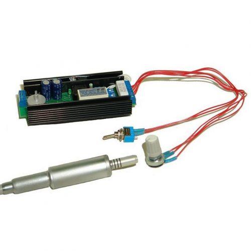 Блоки управления коллекторными микроэлектродвигателями с цифровым пультом управления и индикацией (комплект в установку)