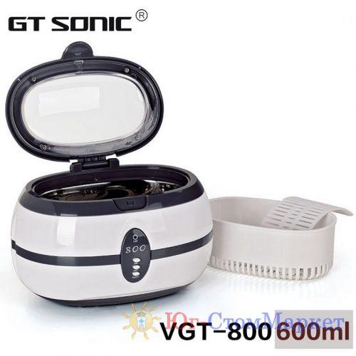 Ультразвуковая мойка VGT- 800 (600 мл) 3 мин. автостоп | SONIC (КНР)