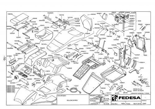 Я-1. Запчасти на стоматологическую установку Fedesa Sillon Zafiro | Fedesa (Испания)