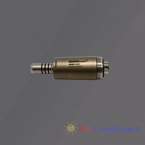 Микромотор электрический стоматологический бесколлекторный со светом Rose 4000N | BEING (Китай)