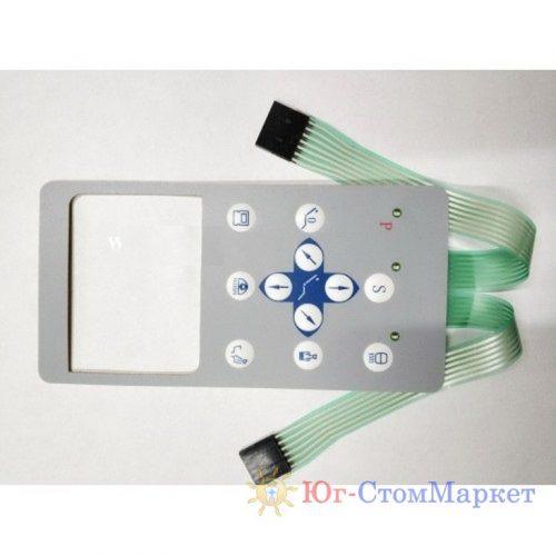 Панель управления столика врача стоматологической установки BR606-4
