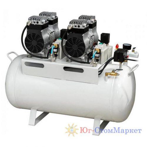 Стоматологический безмалянный компрессор HK-3EW-55 для 1-2 стоматологических установок