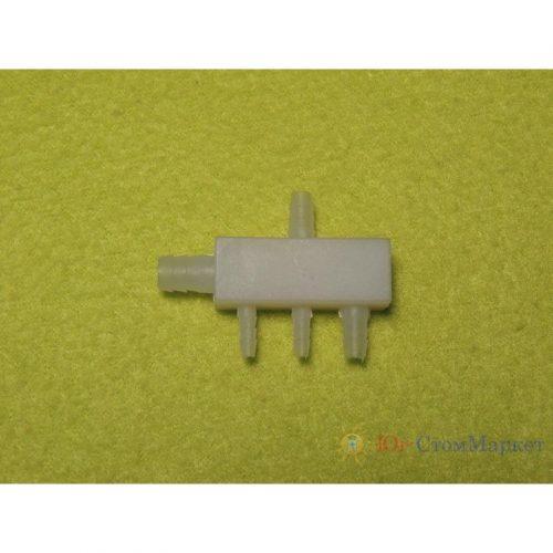 Пластмассовый коннектор (пятерник) 5*5*3*3*6мм JTO213
