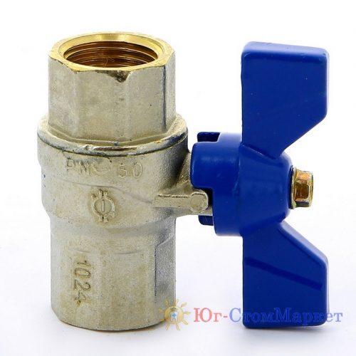 Кран с внутренней резьбой 1/2 - 1/2 KS110-2