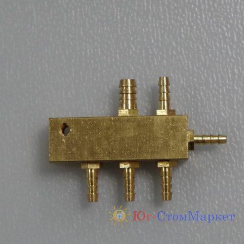 Коннектор металлический на шесть выходов SD4218