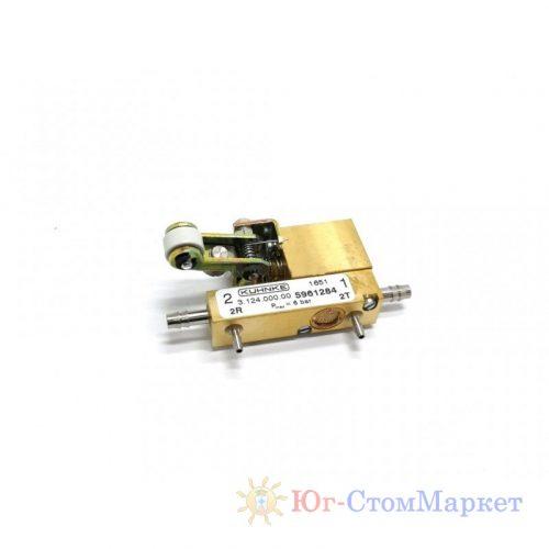 Главный клапан электрической педали для установки Sirona c8+ 05972760 | Sirona (Германия)