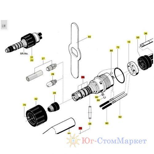 Уплотнительное кольцо (набор) для быстросъемного соединения (мультифлекса) Sirona 04175803 | Sirona (Германия)