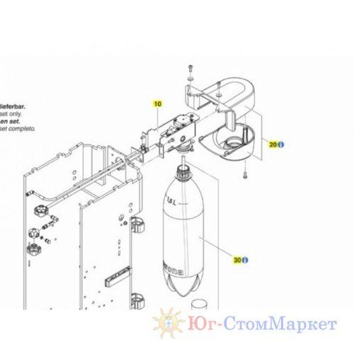 Держатель бутылки установки Sirona intego (германия) 06408004   Sirona (Германия)