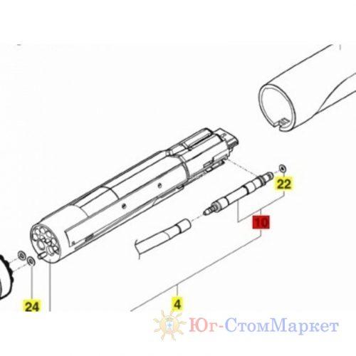 Керамический нагреватель для Sirona sprayvit 03327132 | Sirona (Германия)