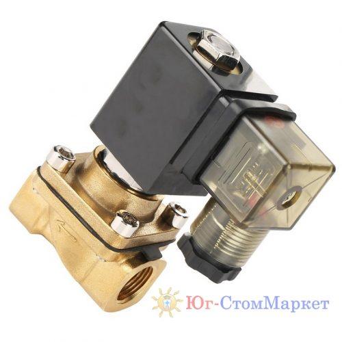 Соленойдный клапан открытый для радиатора для автоклава