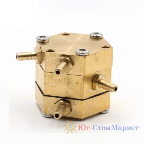 Шестигранный клапан (клапан одной единицы давления) для стоматологической установки cx196-1