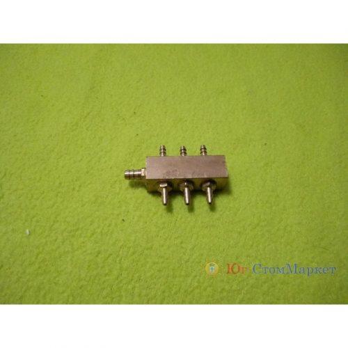 Металлический коннектор семиканальный для стоматологической установки