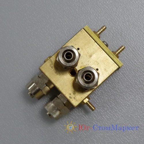 Клапан 2 в 1 воздушный выключатель с боковым отведением