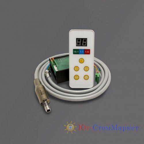 Микромотор электрический стоматологический бесколлекторный со светом и панелью управления Rose 4000ND | BEING (Китай)