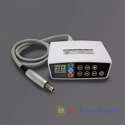 Микромотор электрический стоматологический бесколлекторный со светом Rose 4000W (портативный) | BEING (Китай)