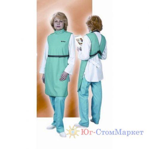 Фартук рентгенозащитный односторонний со стойкой (винил