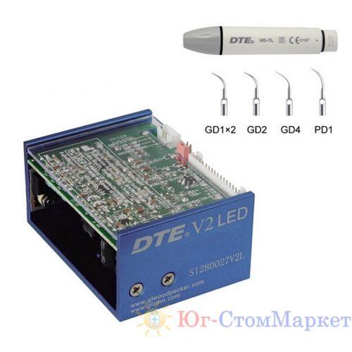 DTE-V2 LED - встраиваемый ультразвуковой скалер с фиброоптикой