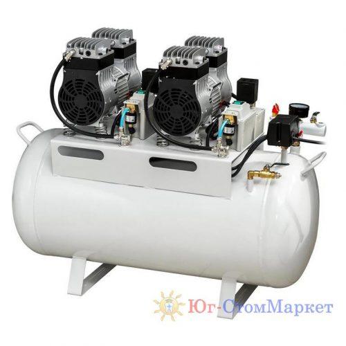 Стоматологический безмалянный компрессор HK-4EW-65 для 3-х стоматологических установок