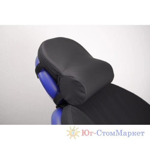 Поддерживающий ортопедический подголовник Roller (Синий