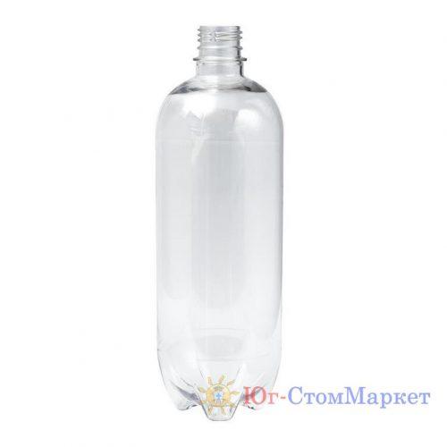 Бутылка (прозрачная) для дистиллированной воды на стоматологическую установку на 1 л cx32