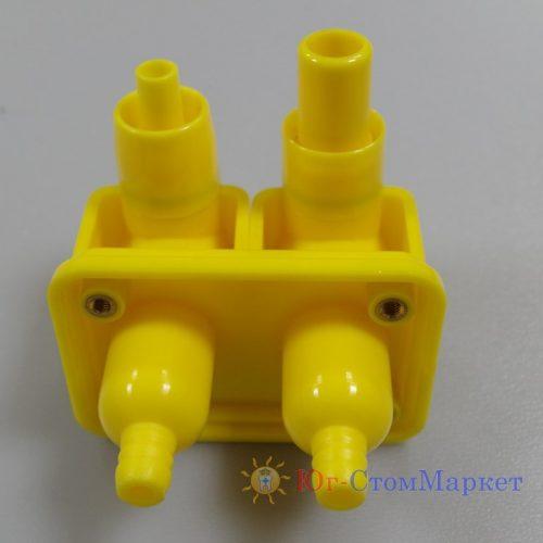 Фильтр слюноотсоса и пылесоса для стоматологической установки с разными диаметрами